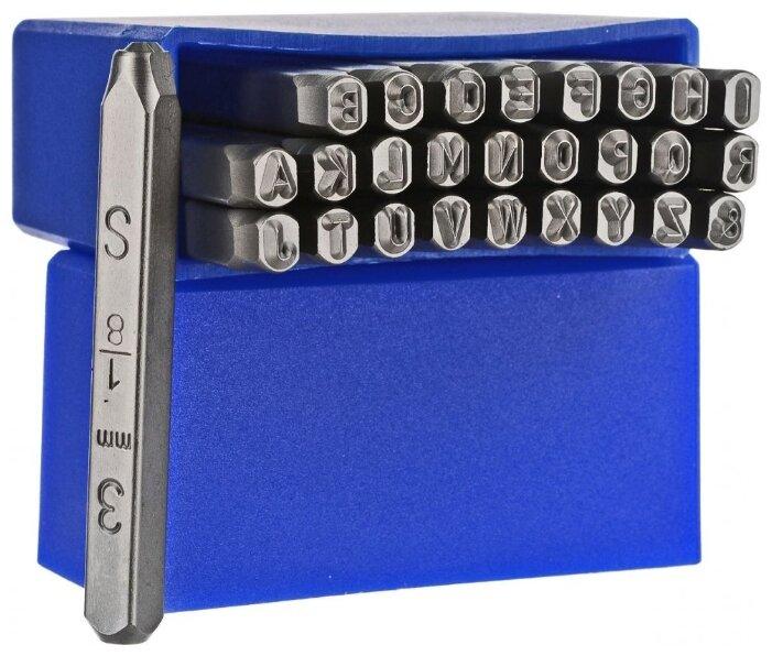 Клейма буквенные, латиница, 3 мм. JTC-JW0914-3