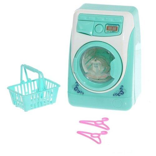 Купить Стиральная машина ABtoys Помогаю маме PT-01212 голубой/белый, Детские кухни и бытовая техника