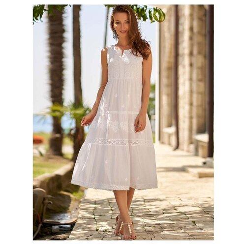 Пляжное платье MIA-AMORE Argentina размер XS белый платье oodji ultra цвет красный белый 14001071 13 46148 4512s размер xs 42 170
