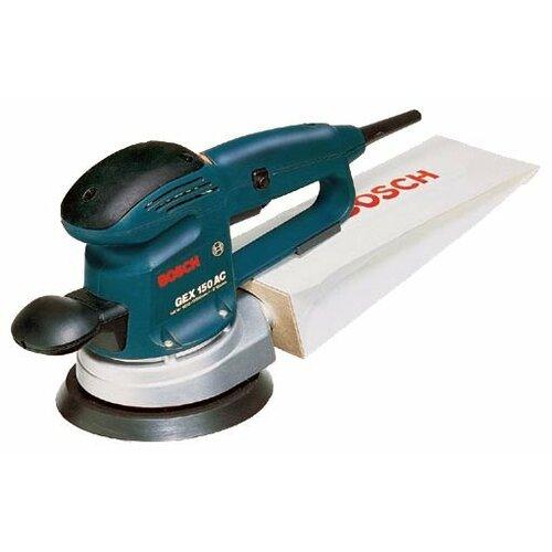 Эксцентриковая шлифмашина BOSCH GEX 150 AC bosch 2602026070 дополнительная ручка для gex pss pex
