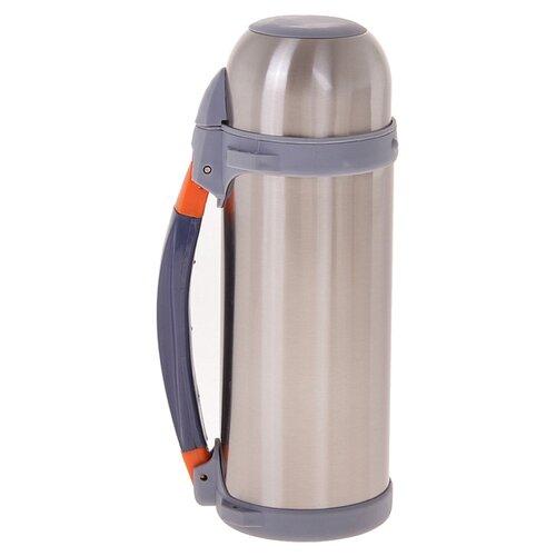 Классический термос TUNDRA Полевой, 0.8 л серый