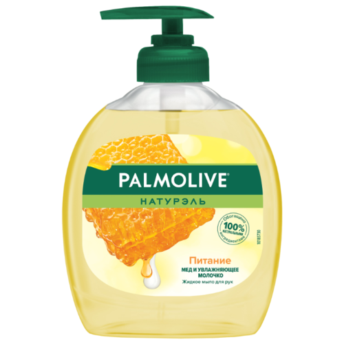 Купить Мыло жидкое Palmolive Натурэль Питание Мед и увлажняющее молочко, 300 мл
