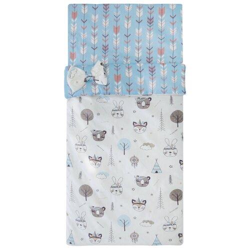 Купить Спальный мешок детский AmaroBaby Magic Sleep Индейцы, Конверты и спальные мешки