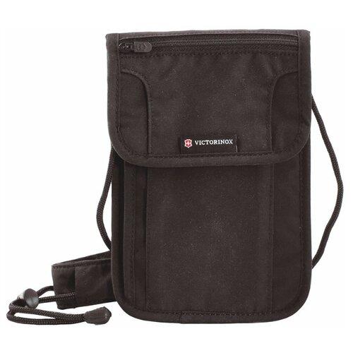 Нагрудный кошелек VICTORINOX Deluxe, полиэстер черный кошелек нагрудный barkli кошелек нагрудный