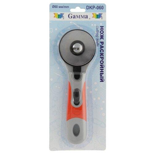 Купить Gamma Нож раскройный DKP-060 d 60 мм оранжевый/белый, Инструменты и аксессуары