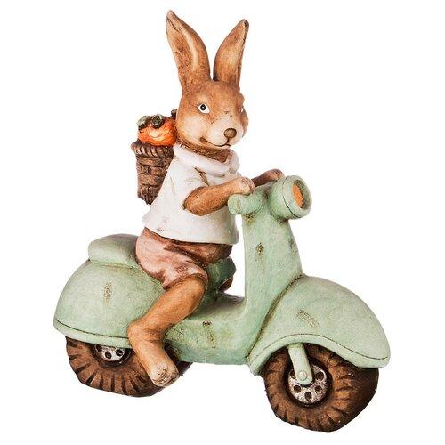 Фото - Статуэтка Lefard Кролик, 46 см коричневый/зеленый статуэтка lefard балерина 699 157 18 см белый серебристый