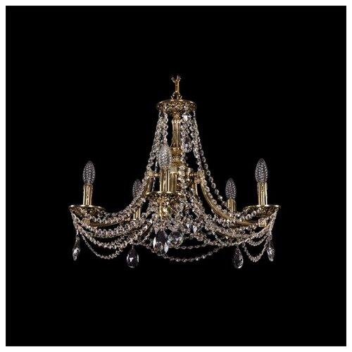Люстра Bohemia Ivele Crystal 1771 1771/5/190/C/GB, E14, 200 Вт люстра bohemia ivele crystal 1771 1771 16 410 c gb sh37 160 e14 640 вт