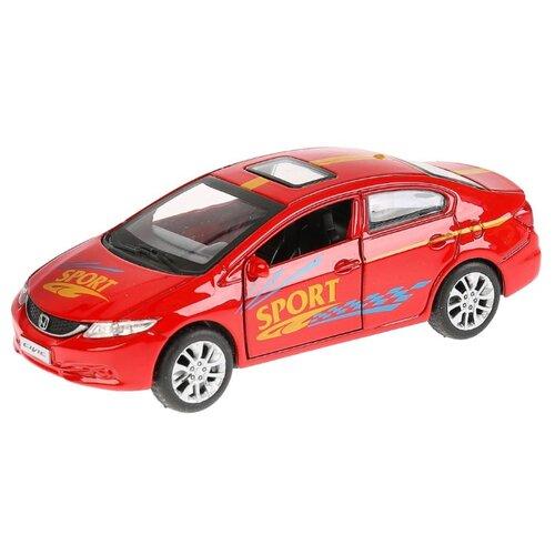 Купить Легковой автомобиль ТЕХНОПАРК Honda Civic Спорт (CIVIC-S) 12 см красный, Машинки и техника