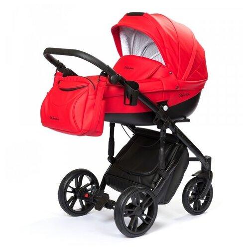Купить Коляска для новорожденных Mr Sandman Oblivion Ecco (люлька), 16 красный, Коляски