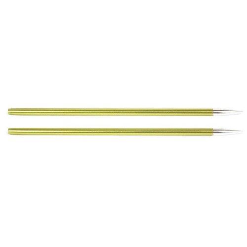 Купить Спицы Knit Pro съемные Zing 47521, диаметр 3.5 мм, длина 10 см, Chrysolite