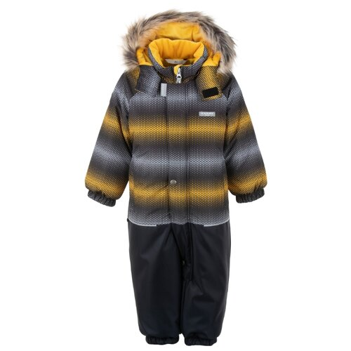 Купить Комбинезон KERRY FUN K20419 размер 80, 01099 оранжевый пиксель, Теплые комбинезоны