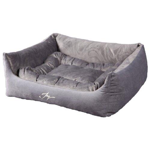 Лежак для собак Joy Spring 50х43х19 см серебристый