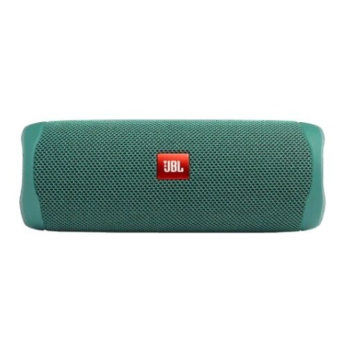 Портативная акустика JBL Flip 5 Eco Edition, 20 Вт, green