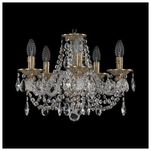 Люстра Bohemia Ivele Crystal Ivele Crystal 16106/5/141 FP, E14, 200 Вт абажур bohemia ivele sh22