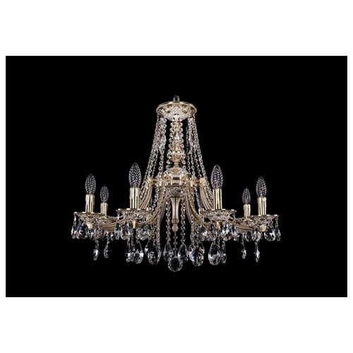 Люстра Bohemia Ivele Crystal 1771 1771/8/220/A/GW, E14, 320 Вт люстра bohemia ivele crystal 1771 12 340a gw
