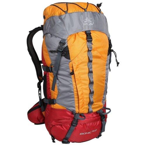 Рюкзак Сплав Bionic 50 (оранжевый) рюкзак туристический сплав рк2 цвет оливковый 50 л