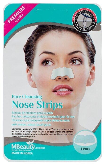 Mbeauty Pore cleansing nose strips полоски для очищения пор в области носа