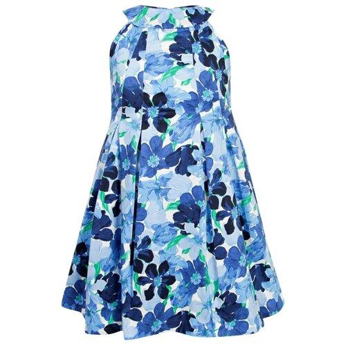 Купить Платье Mayoral размер 116, синий, Платья и сарафаны