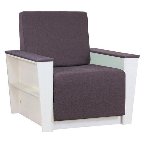 Кресло-кровать Шарм-Дизайн Бруно 2 размер: 88х90 см, , размер спального места: 190х61 см, обивка: ткань, цвет: серый