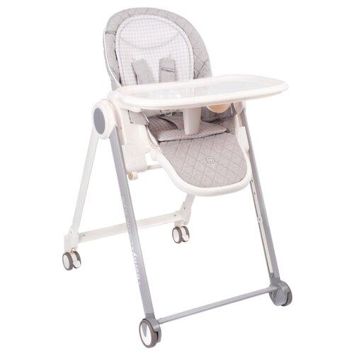 Купить Стульчик-шезлонг Happy Baby Berny Basic New light grey, Стульчики для кормления