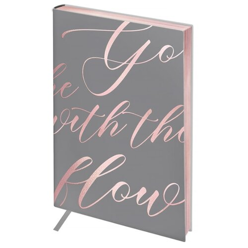 Ежедневник Greenwich Line Vision. Powder pink недатированный, искусственная кожа, А6, 80 листов, powder pink