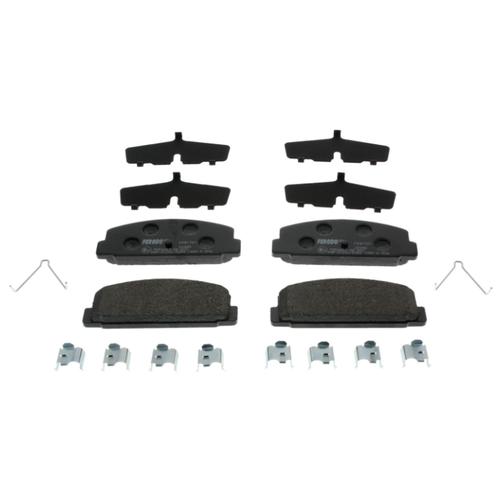 Дисковые тормозные колодки задние Ferodo FDB1721 для Mazda 323, Mazda 6, Mazda Premacy, Mazda 626 (4 шт.)