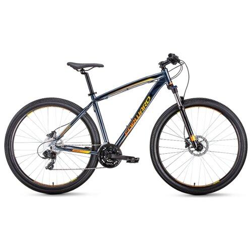 Фото - Горный (MTB) велосипед FORWARD Next 29 3.0 Disc (2020) серый/оранжевый 21 (требует финальной сборки) горный mtb велосипед merida matts 7 20 2020 glossy purple lilac s требует финальной сборки