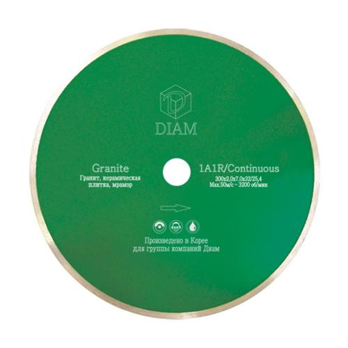Фото - Диск алмазный отрезной DIAM Granite 244, 300 мм 1 шт. diam 030657 62 x 450 мм