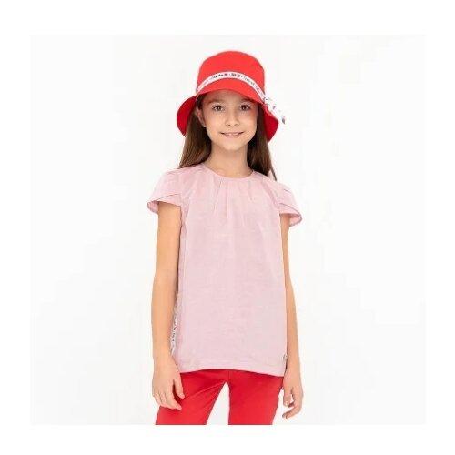 Купить Блузка Button Blue размер 104, розовый, Рубашки и блузы