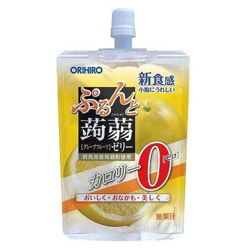 Желе Orihiro из конняку питьевое Грейпфрут 0%, 130 г