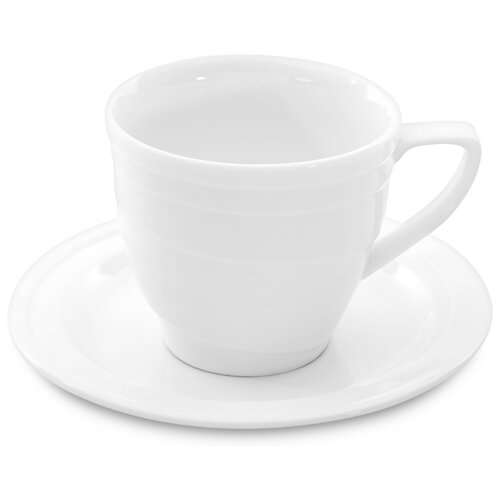 BergHOFF Кофейная пара Hotel 125 мл белый россия кофейная пара тюльпан в золоте гжель