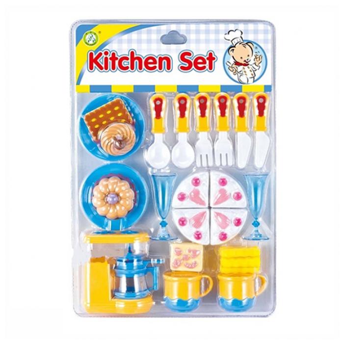 Набор продуктов с посудой Zhorya Kitchen Set ZY545509