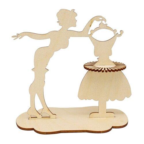 Купить Astra & Craft Деревянная заготовка для декорирования салфетница Модница L-1087 береза, Декоративные элементы и материалы