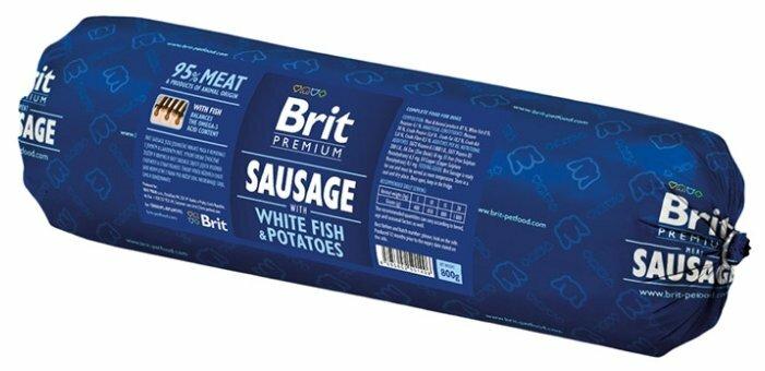 Корм для собак Brit Premium Колбаса 800г
