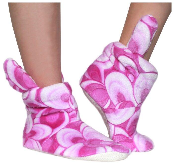 Тапочки высокие ivshoes фиолетовый 35-36