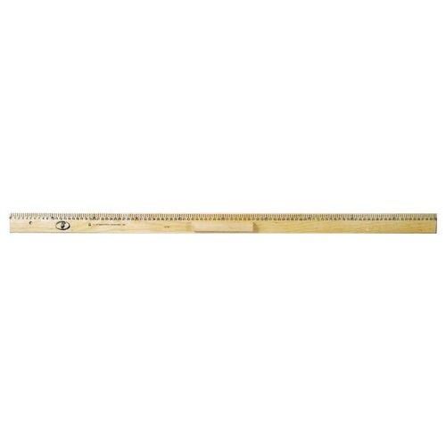 Купить Красная Звезда Линейка деревянная 100 см (С363) бежевый, Чертежные инструменты