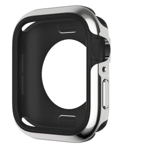 Чехол SwitchEasy Odyssey для Apple Watch Series 4/5 44 мм серебряный