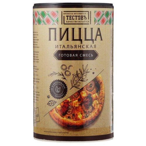 Фото - ТЕСТОВЪ Смесь для выпечки Пицца итальянская, 0.4 кг итальянская пицца