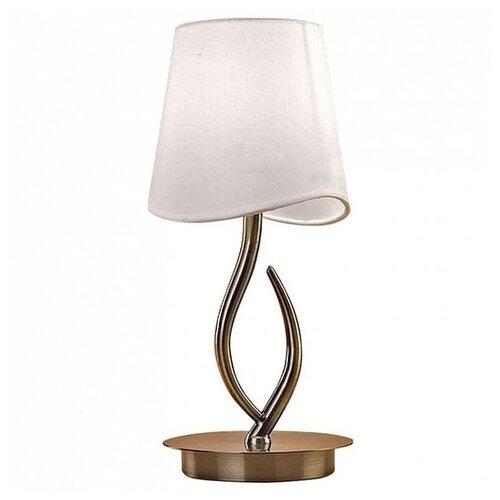 Настольная лампа Mantra Ninette Antique Bras 1925, 20 Вт цена 2017