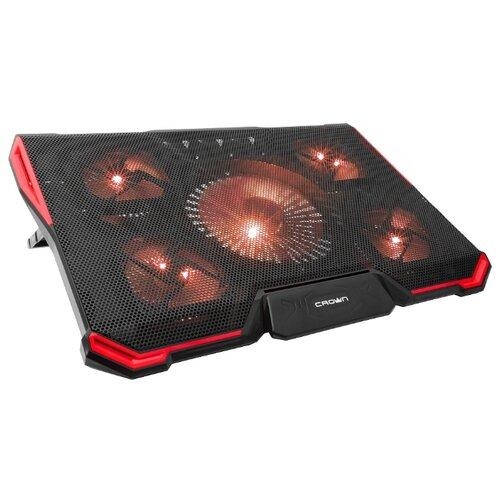 Купить Подставка для ноутбука CROWN MICRO CMLS-K330, черный/красный