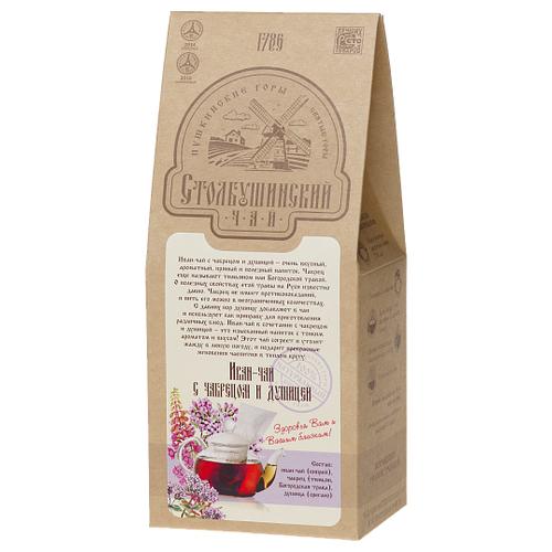 Чай травяной Столбушинский Иван-чай с чабрецом и дущицей, 100 г чай травяной вятский иван чай с чабрецом 100 г