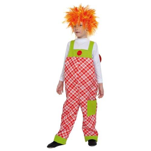 Купить Костюм КарнавалOFF Карлсон с пропеллером (5019.020), красный/белый, размер 134-140, Карнавальные костюмы