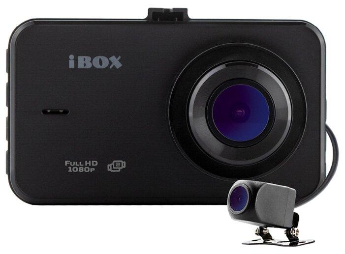 Видеорегистратор iBOX ZenCam Dual + RearCam HD7 720p, 2 камеры фото 1