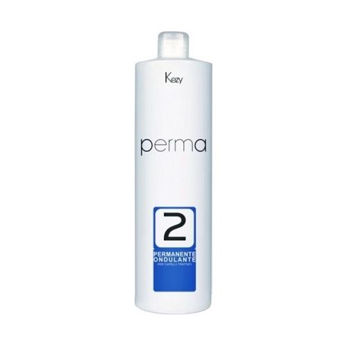 KEZY Комплекс PERMA 2 для перманентной завивки химически обработанных волос, 1000 мл