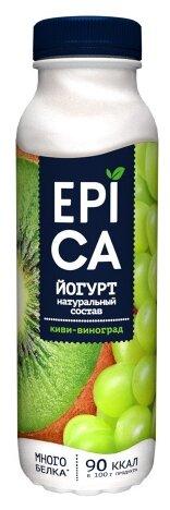 Питьевой йогурт EPICA киви-виноград 2.5%, 290 г