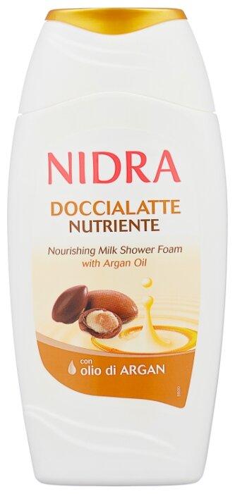 Пена молочко для душа Nidra с аргановым