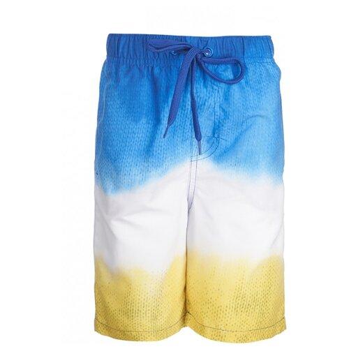 Шорты для плавания Oldos размер 116, желтый/синий футболка для плавания oldos размер 116 темно синий голубой