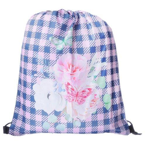 Yiwu Minda Commodities Мешок для обуви Волшебные цветы (233031) розовый/ голубой