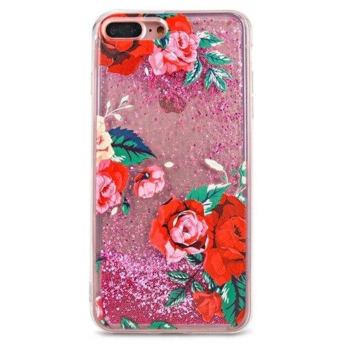 Чехол Pastila Life Style для Apple iPhone 7 Plus/iPhone 8 Plus красные розы skinbox silicone chrome border color style 1 4people чехол для apple iphone 7 8 green