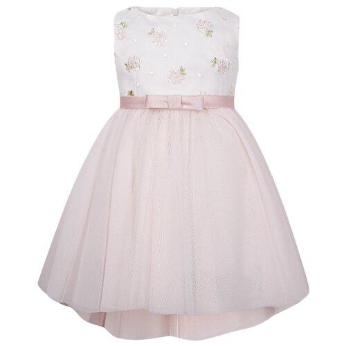 Платье ColoriChiari размер 74, розовый/белый